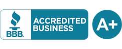A+ BBB Accredited Business